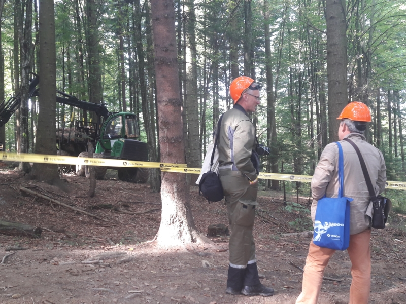 "Participation at ""Forest Romania 2017"""