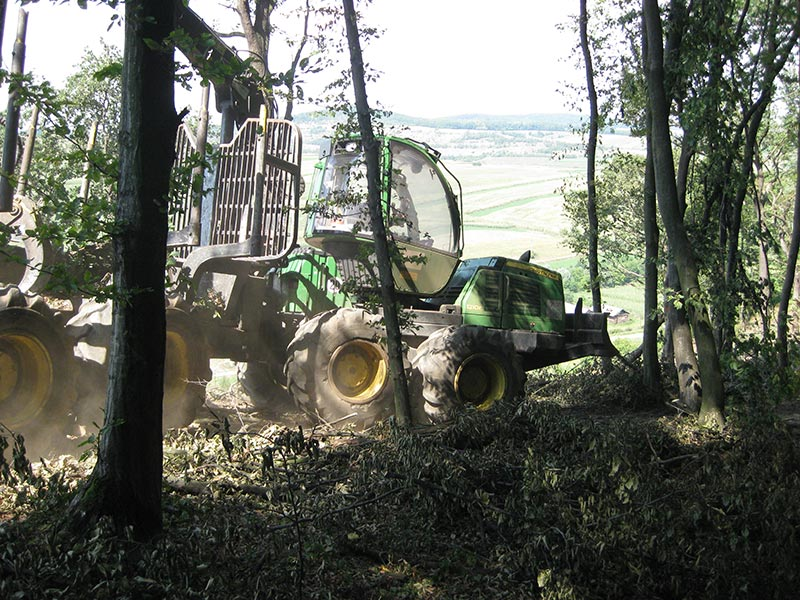 John Deere 1210E - Client application