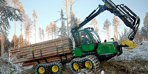 John Deere forestry machines | Elmas distributor in Romania